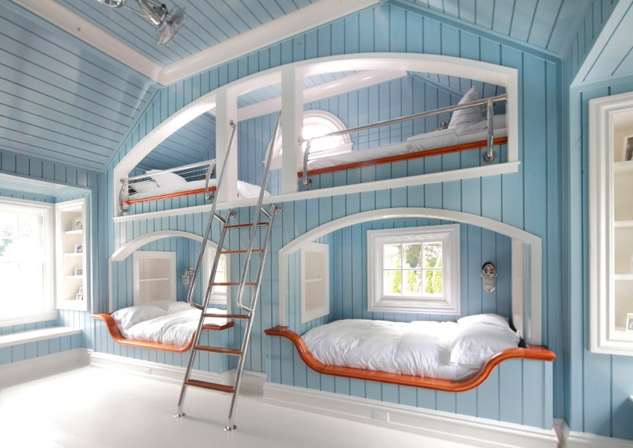 Bunk beds perfect for a vacation home