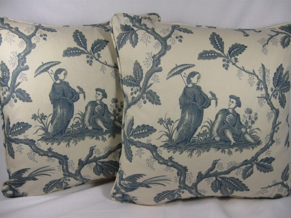 Chinese toile by Colefax and Fowler