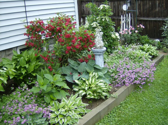 Raised beds make appealing borders