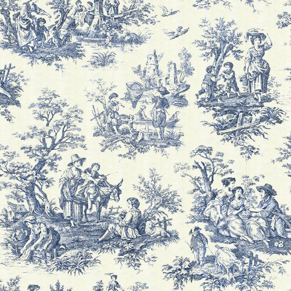 toile de jouy tells a story in your home