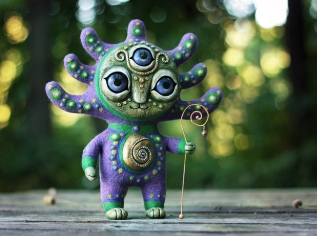 Amazing hand made alien dolls by Maryana Kopylova (10)