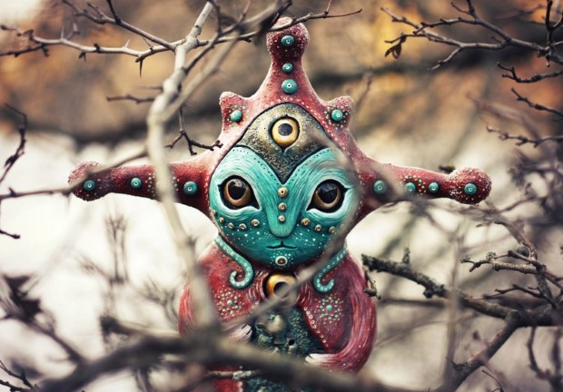 Amazing hand made alien dolls by Maryana Kopylova (11)