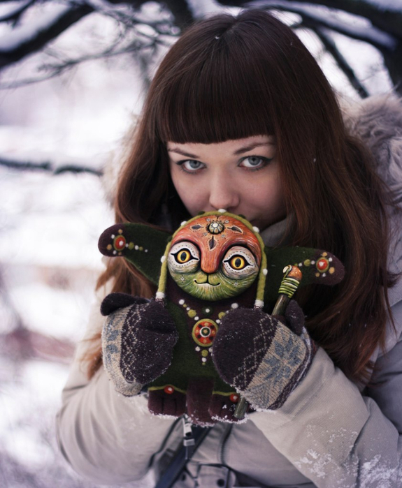 Amazing hand made alien dolls by Maryana Kopylova (13)