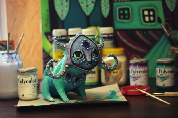 Amazing hand made alien dolls by Maryana Kopylova (16)