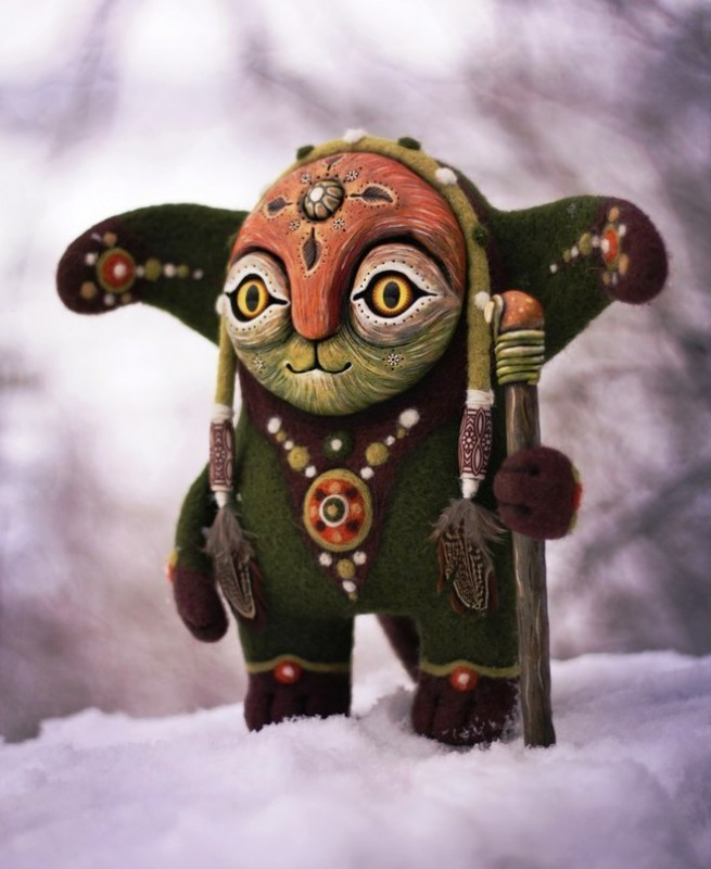 Amazing hand made alien dolls by Maryana Kopylova (5)