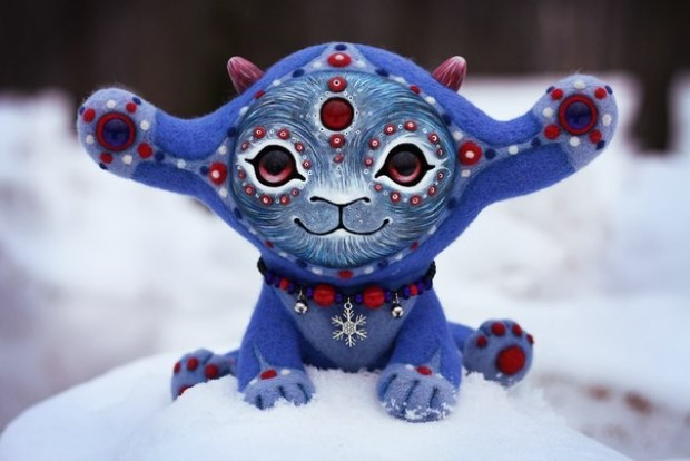Amazing hand made alien dolls by Maryana Kopylova (8)