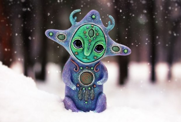 Amazing hand made alien dolls by Maryana Kopylova (9)