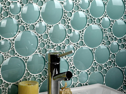 Fun bubble style tile