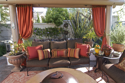 ... Curtains Add Color And Style To Outdoor Spaces