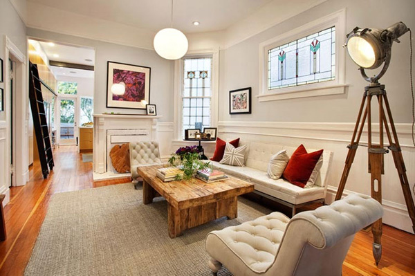 Modern victorian style homes interior