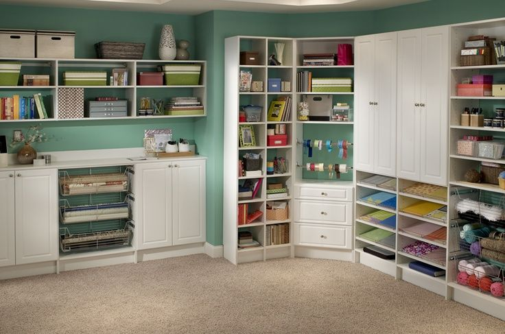 storage and design tips for a craft room. Black Bedroom Furniture Sets. Home Design Ideas
