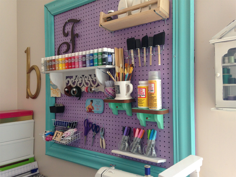 Storage For Craft Room: Storage And Design Tips For A Craft Room