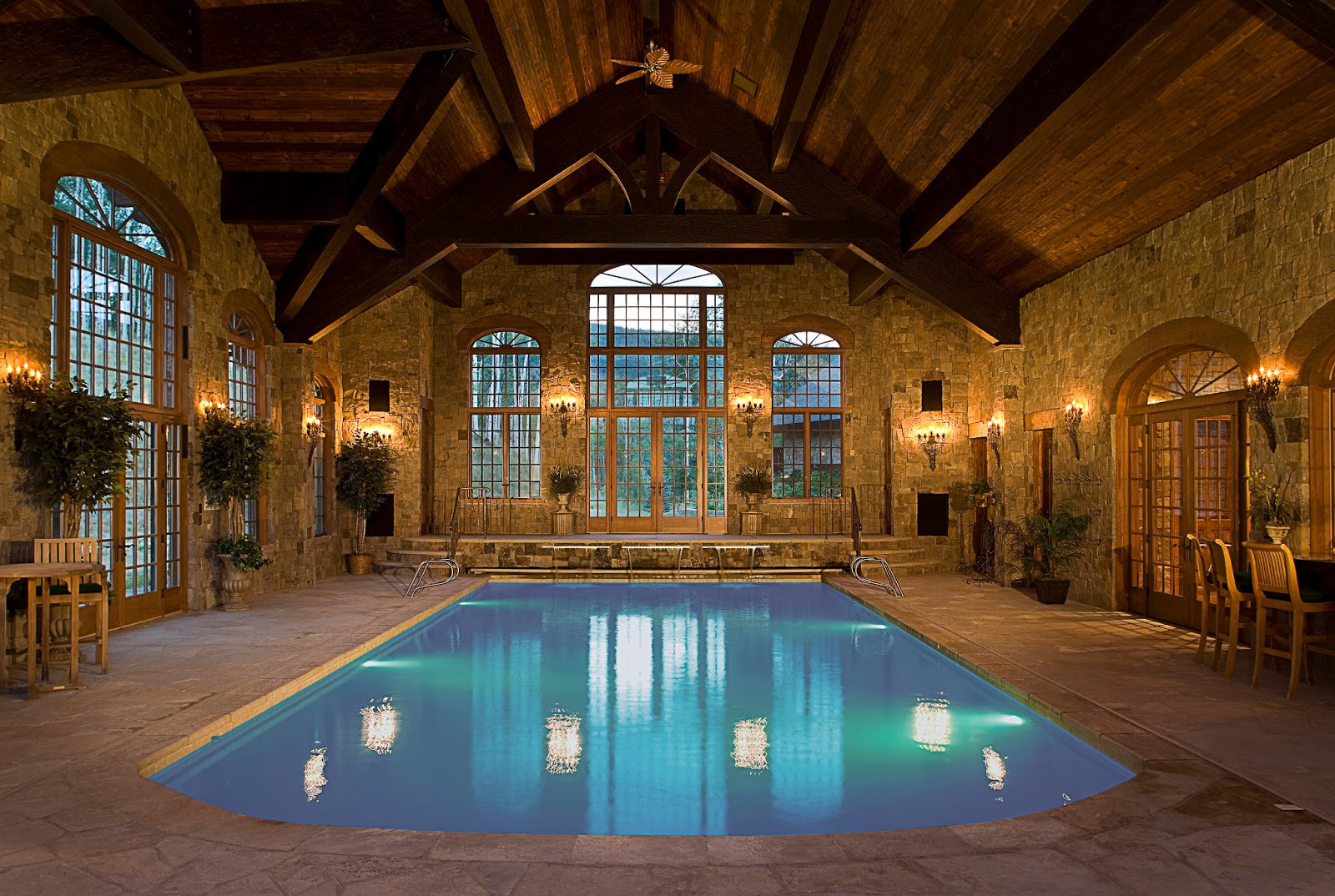 Indoor swimming pools to inspire for Interior swimming pool