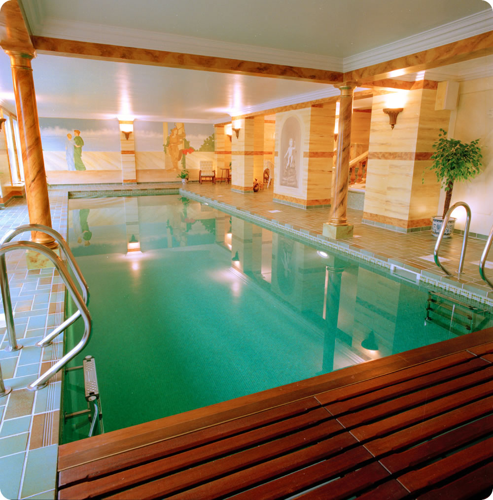 Indoor Pools Require Less Daily Maintenance (homedesign993) Beautiful  Interior Swimming Pool