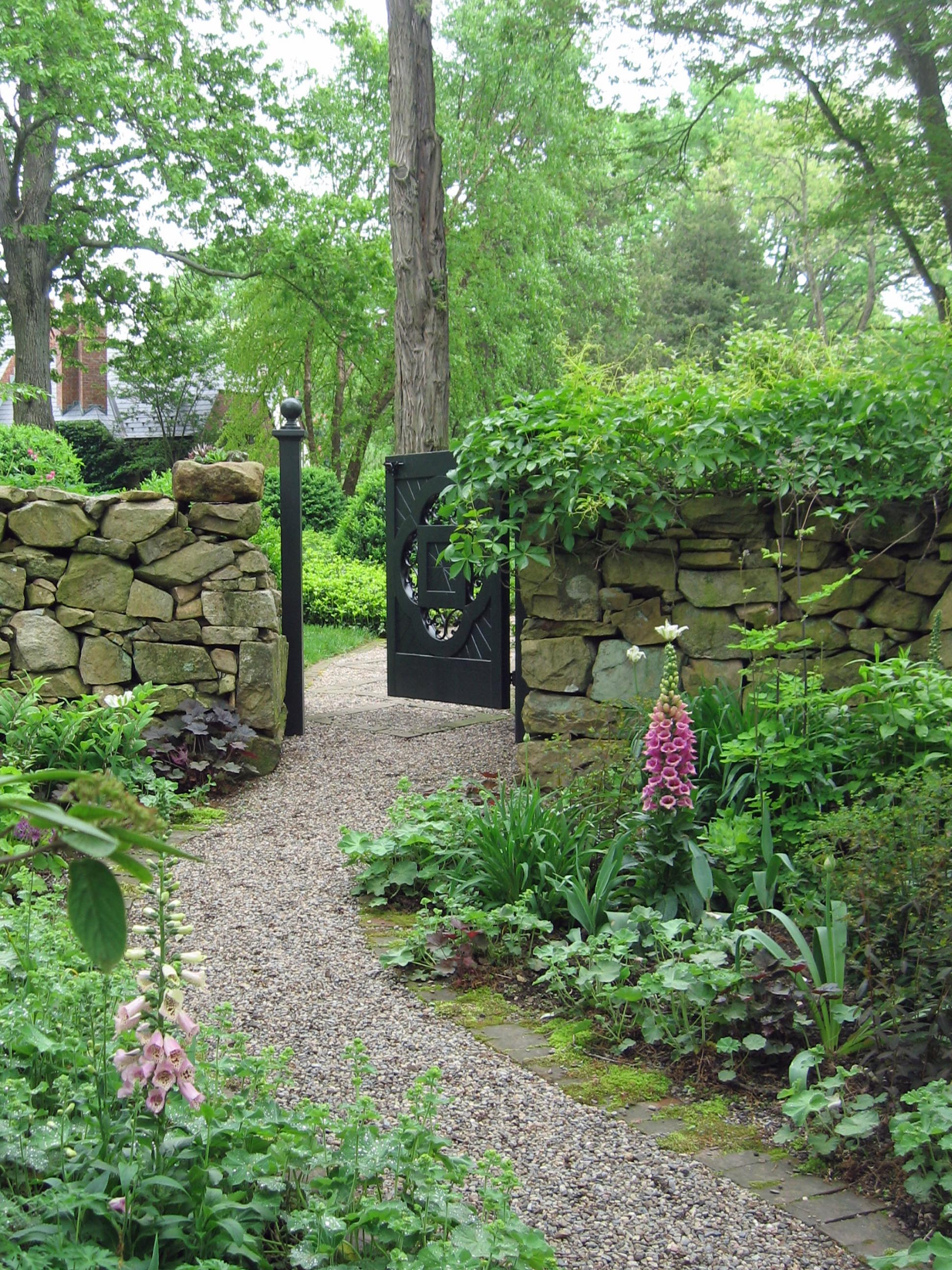 Garden gates make a grand entrance for Outdoor garden doors