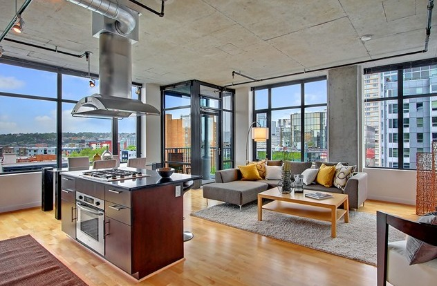 Beautiful Lightfilled Rooms - Beautifully designed loft apartments seattle perfect