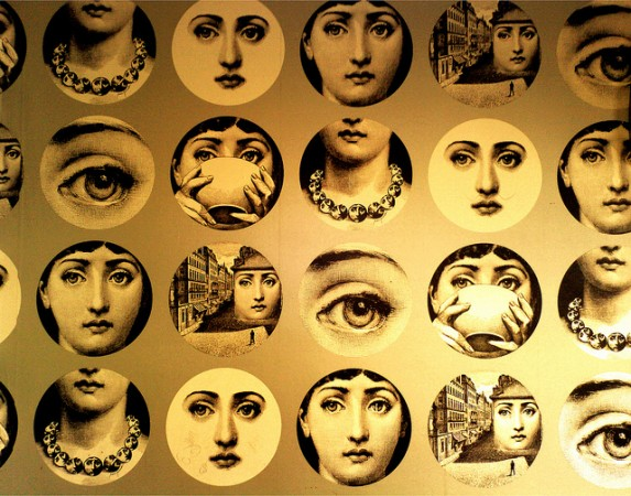 Variations of Fornasetti's design