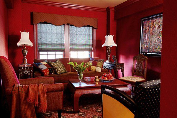 Jewel Tone Interior Decorating