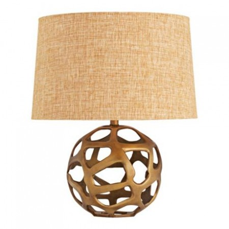 Fun geometric table lamp