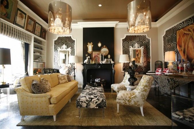 Bold luxury in glowing gold accents