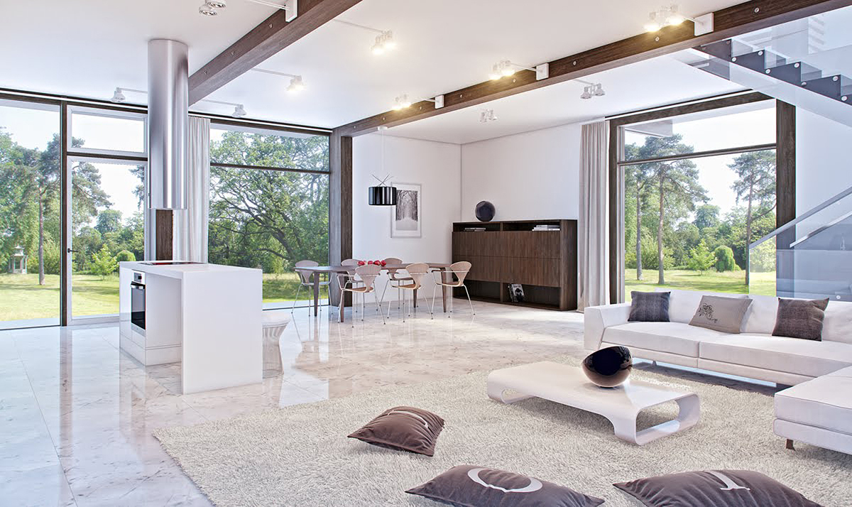 5 reasons to love marble in your home beautiful white marble floors shine with elegance dailygadgetfo Gallery