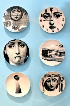 The appealing whimsy of Fornasetti plates