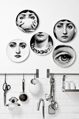 Fornasetti plates grab your attention