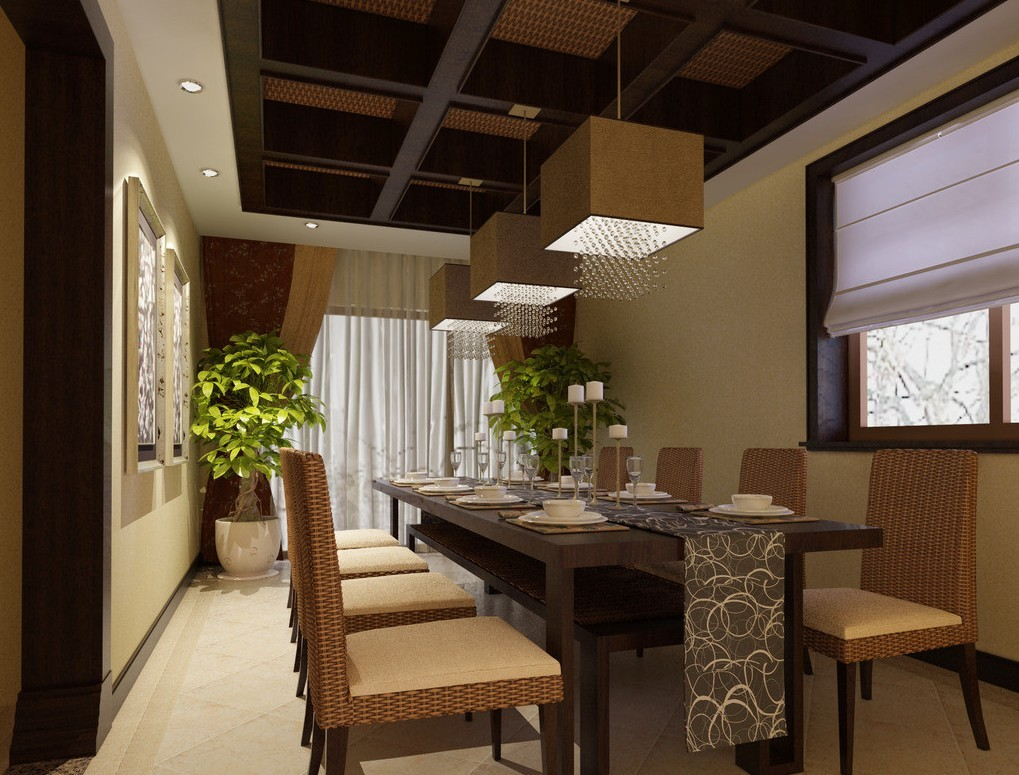 Stylish modern dining spaces for Modern dining room design