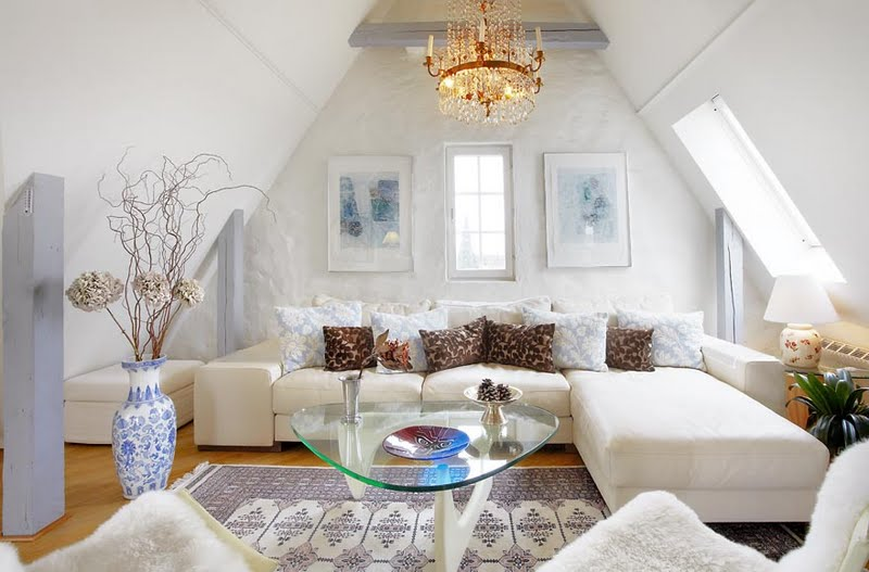 Medium Attic Living Room Design Romantic Attic Bedroom Room Decorating Ideas Soothing Attic
