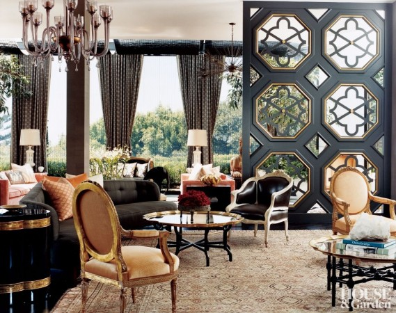 Refined luxury in this Kelly Wearstler room