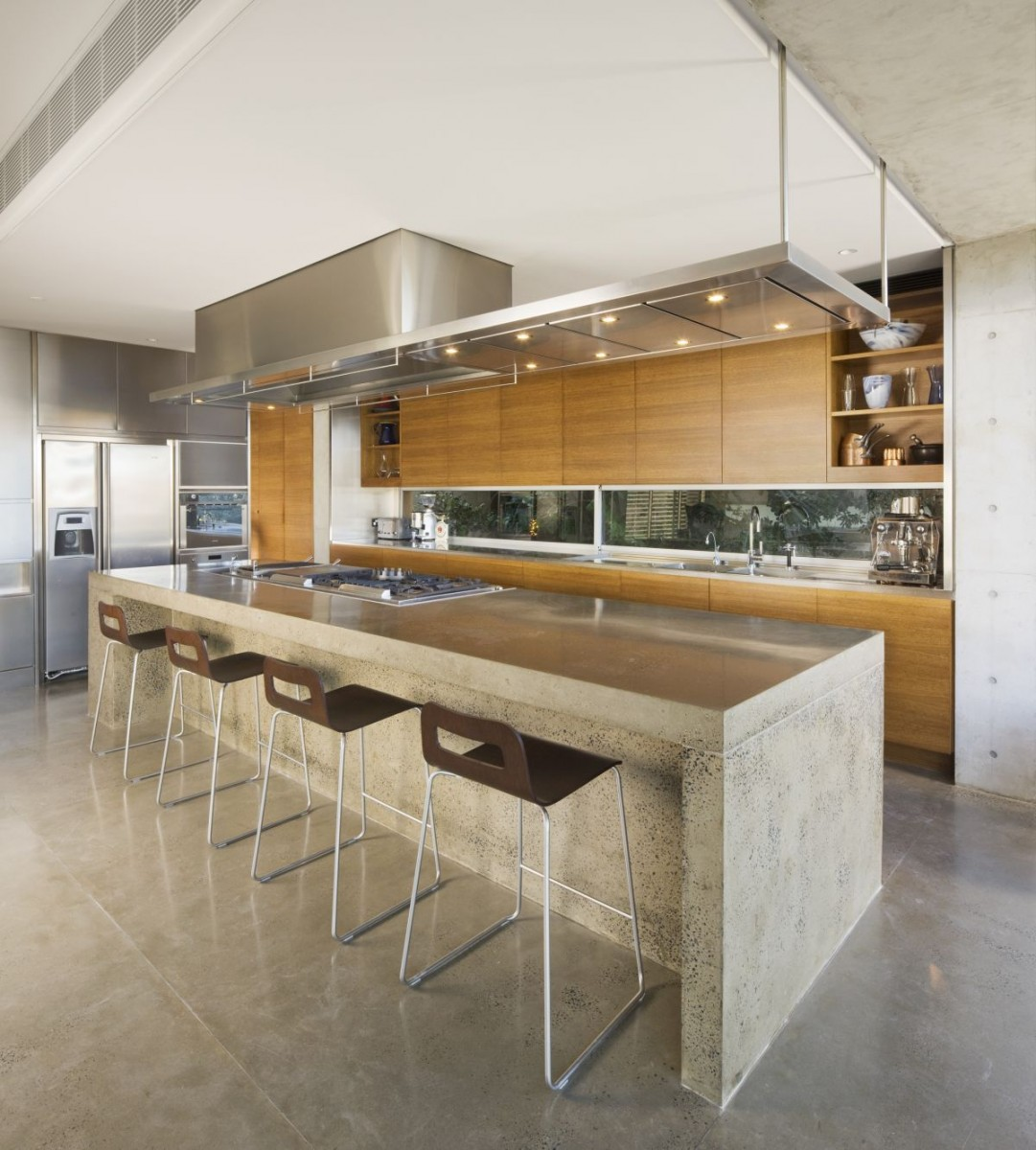 Upgraded Surfaces, Cabinetry And Appliances In A Modern Kitchen