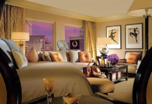Luxury hotel suite to inspire bedroom design