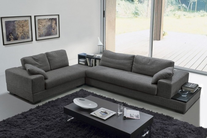 gray sofa for an elegant living room