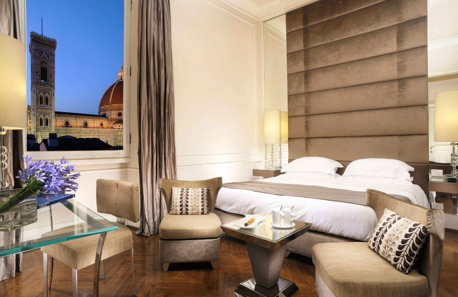 Hotel rooms to inspire your bedroom design for Design hotel florence italy