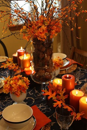 Fall arrangements add instant warmth