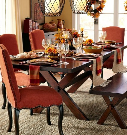 Let autumn inspire your table settings