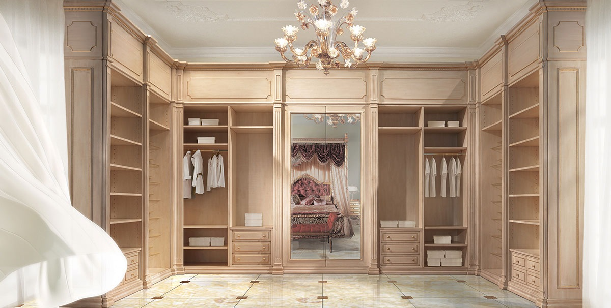 ... Luxury Walk In Closet