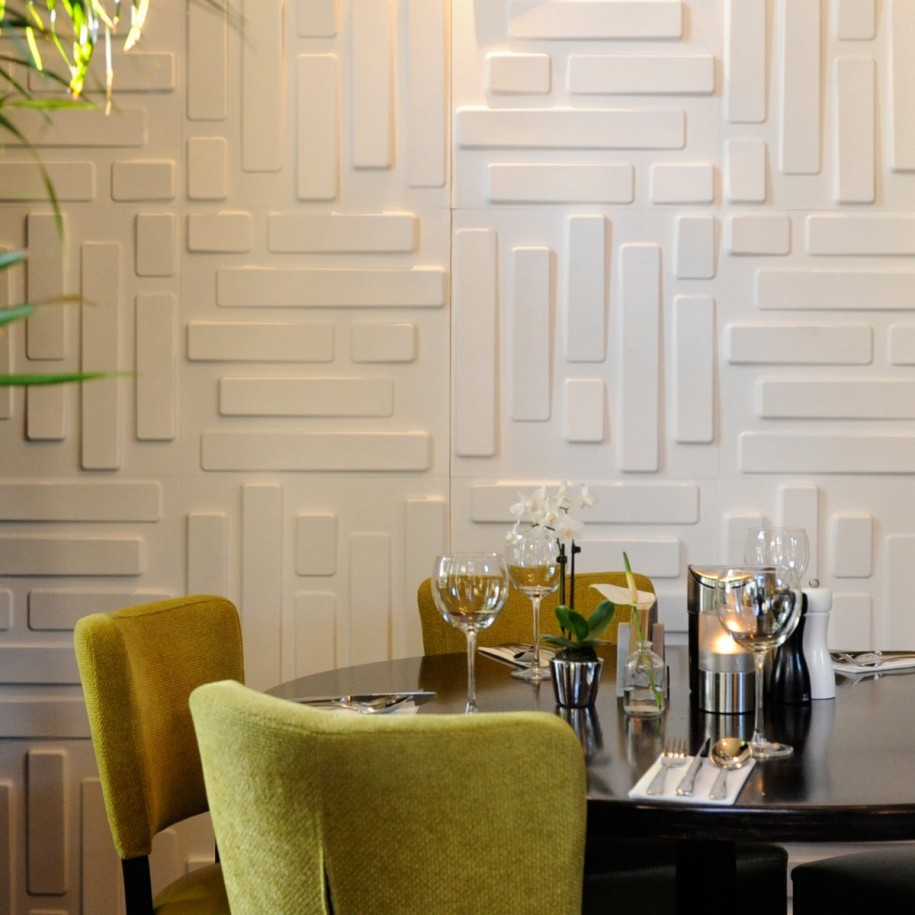 Decorative Wall Coverings : Bring your walls alive with d panels