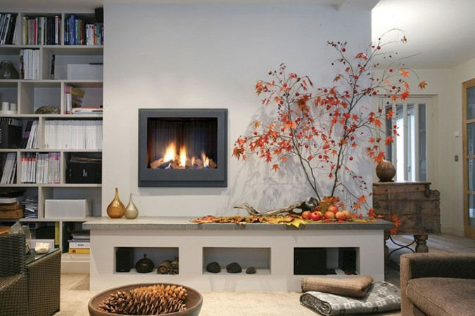 Natural accents bring fall into the home