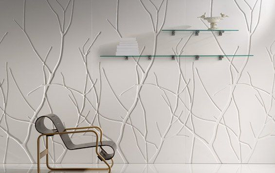 Nature-inspired textured wall panel