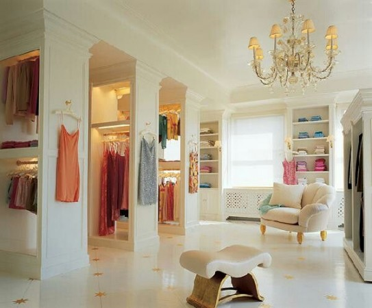 Beautiful walk-in closet