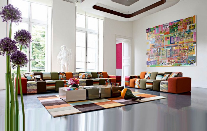 Colorful and unique, this room shines with personality