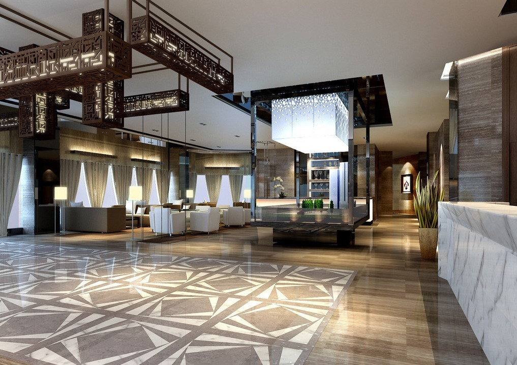 6 ways hotel lobbies teach us about interior design for Small hotel interior design