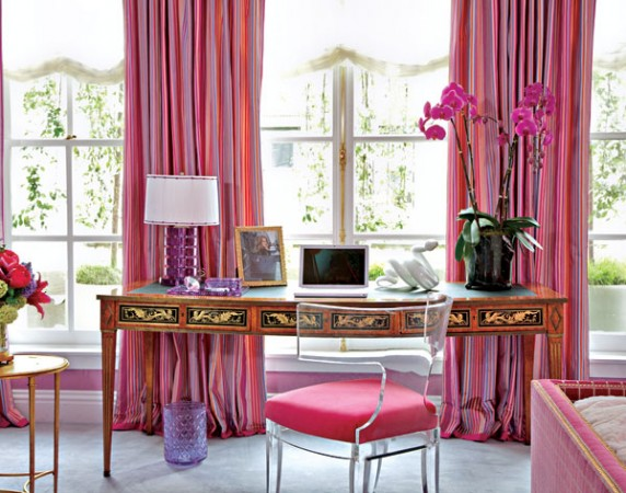 Purple and fuchsia at Kips Bay Designer Show House