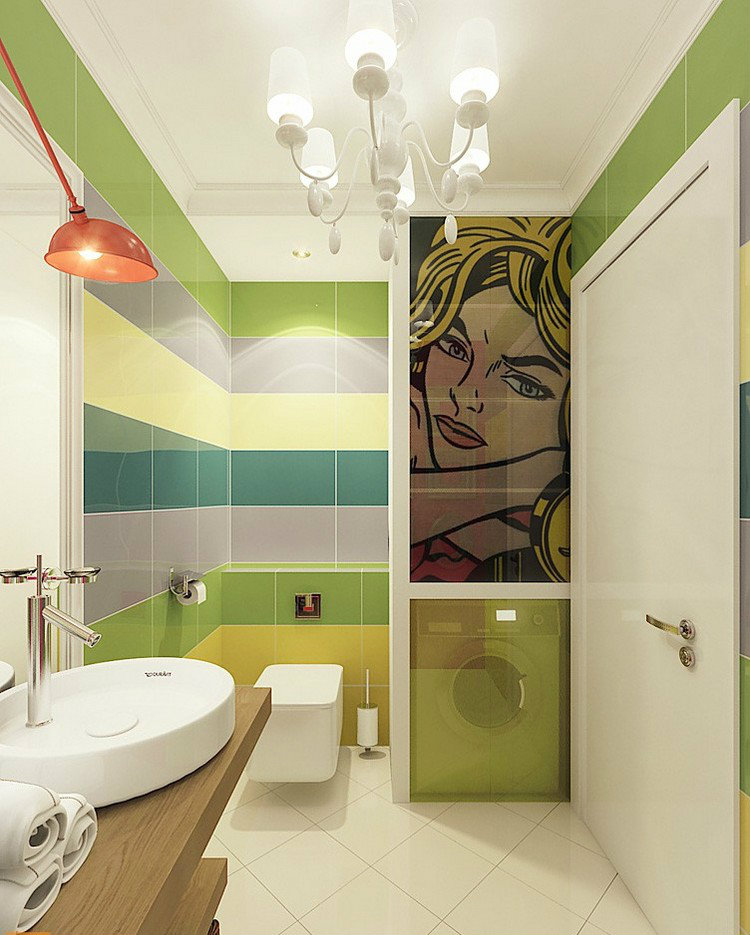 Fascinating Pop Art Ideas For Inspiring Your Interior Home