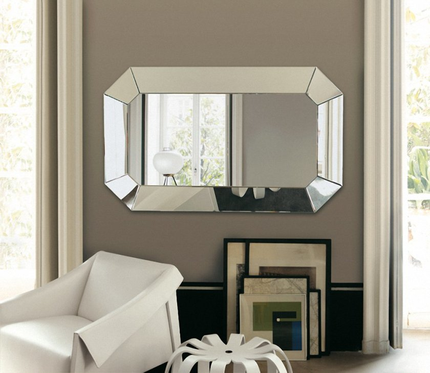 elegant mirrors living room. elegant bathroom with oval shaped mirror and neon light  Livinator