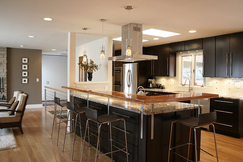 Modern Open Kitchen Design Ideas ~ Open kitchen designs