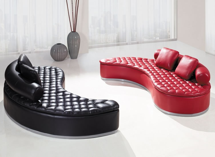 Unique Modern Sofa (nidahspa) Yin And Yang Sofas
