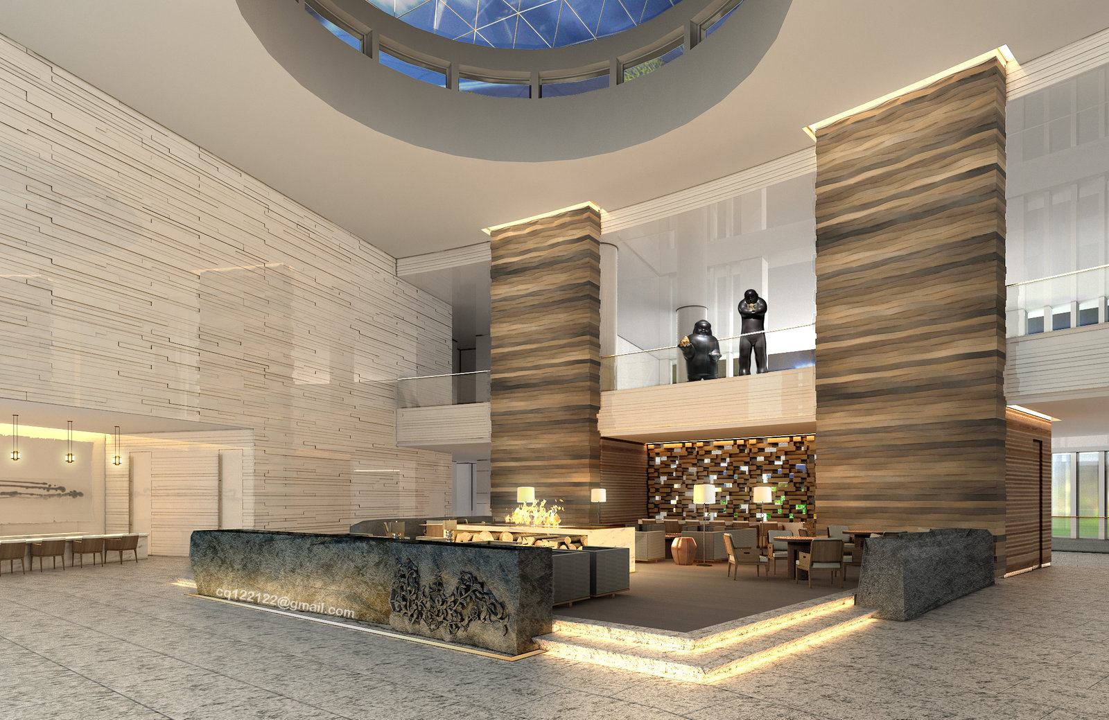 6 ways hotel lobbies teach us about interior design for Contemporary hotel design