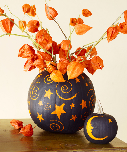 pumpkin decorating idea - Pumpkins Decorations